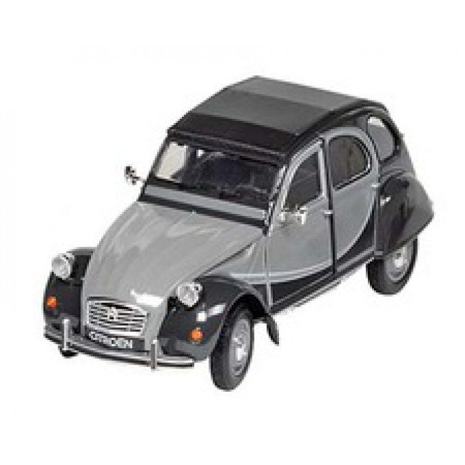2Cv6 Citroen Charleston grise