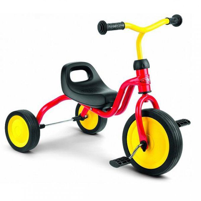 Tricycle Rouge en Fer